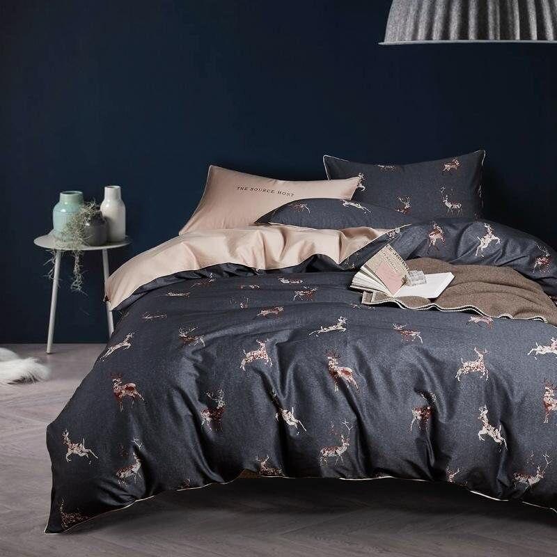 Juego de cama satén premium cpa009 algodón egipcio