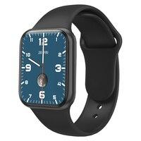 2021 Смарт-часы для мужчин и женщин, сенсорный экран 1,75 дюйма, Bluetooth, пульсометр