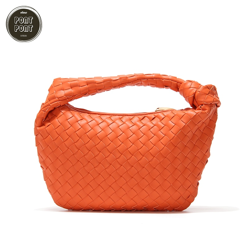 Large Female Buck Hobos 2020 New Fashion Winter Handbag Shoulder Bag For Women PU Leather Braided Ladies sac a main femme bolsas