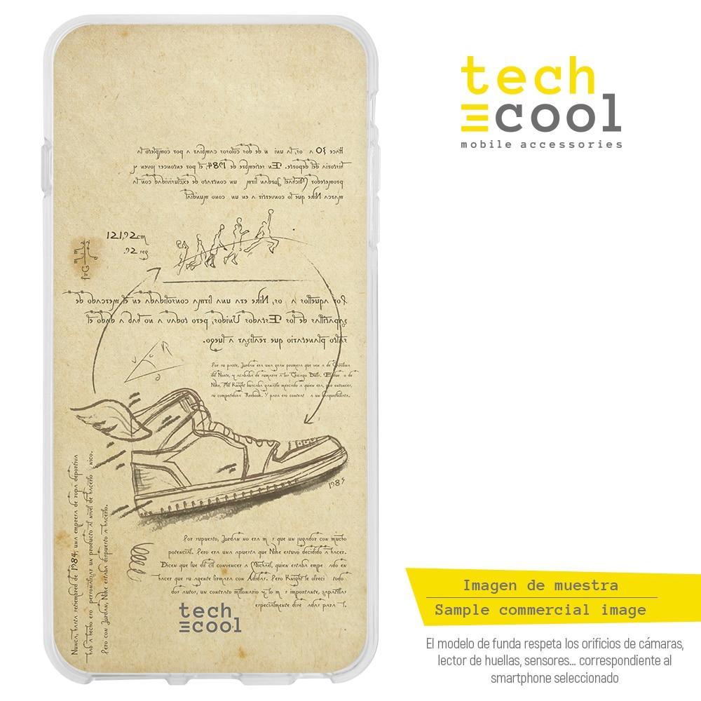 FunnyTech®Oneplus 7 l capa de silicone design ar jordan da vinci estilo