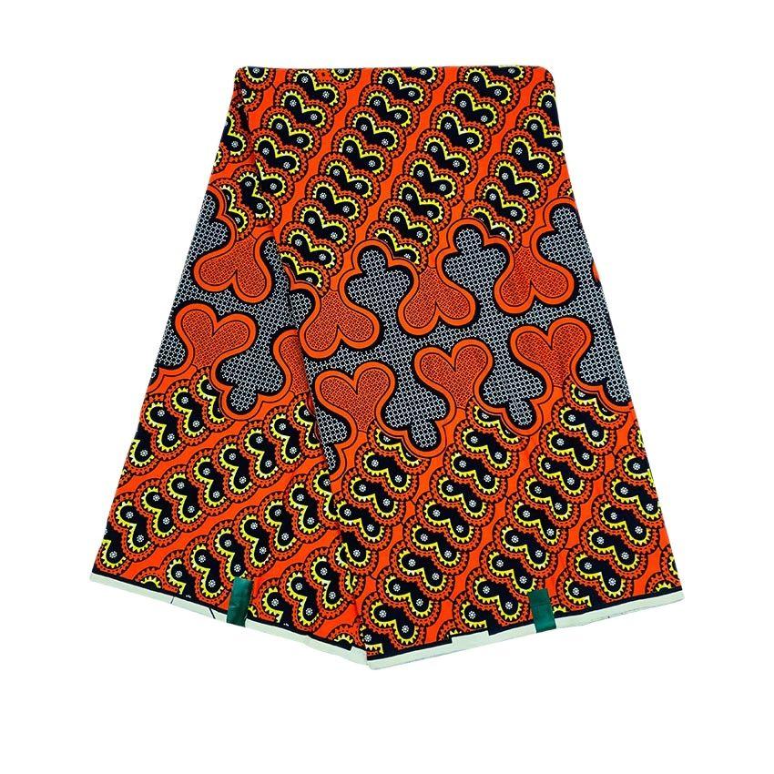 أفريقيا قماش مطبوع الشمع الحقيقي المرقعة مواد الخياطة أنقرة فستان عمل فني إكسسوارات 100% القطن الحرف المواد 6 ياردة