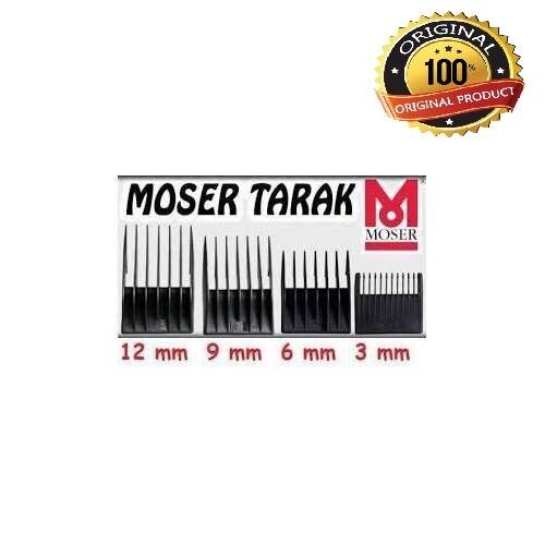 Moser 1400 4 Uds 3mm-6mm-9mm-12mm extensión Barbero reserva kit de herramientas