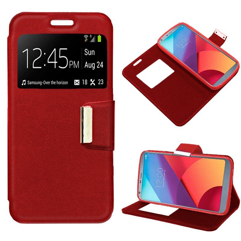 Funda Flip Cover LG G6 / G6 Plus Color Rojo