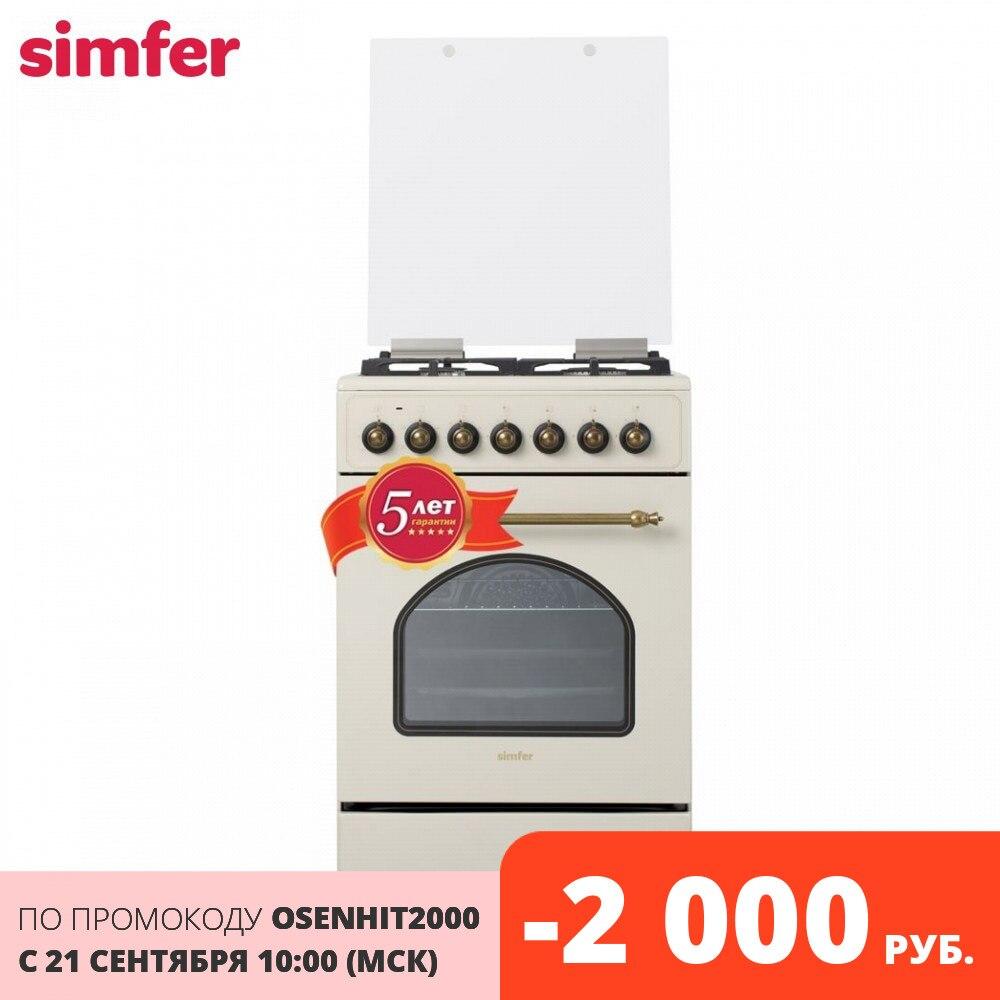 Gamas Simfer F56EO45017 60 Gas blanco electrodomésticos cocina combinada