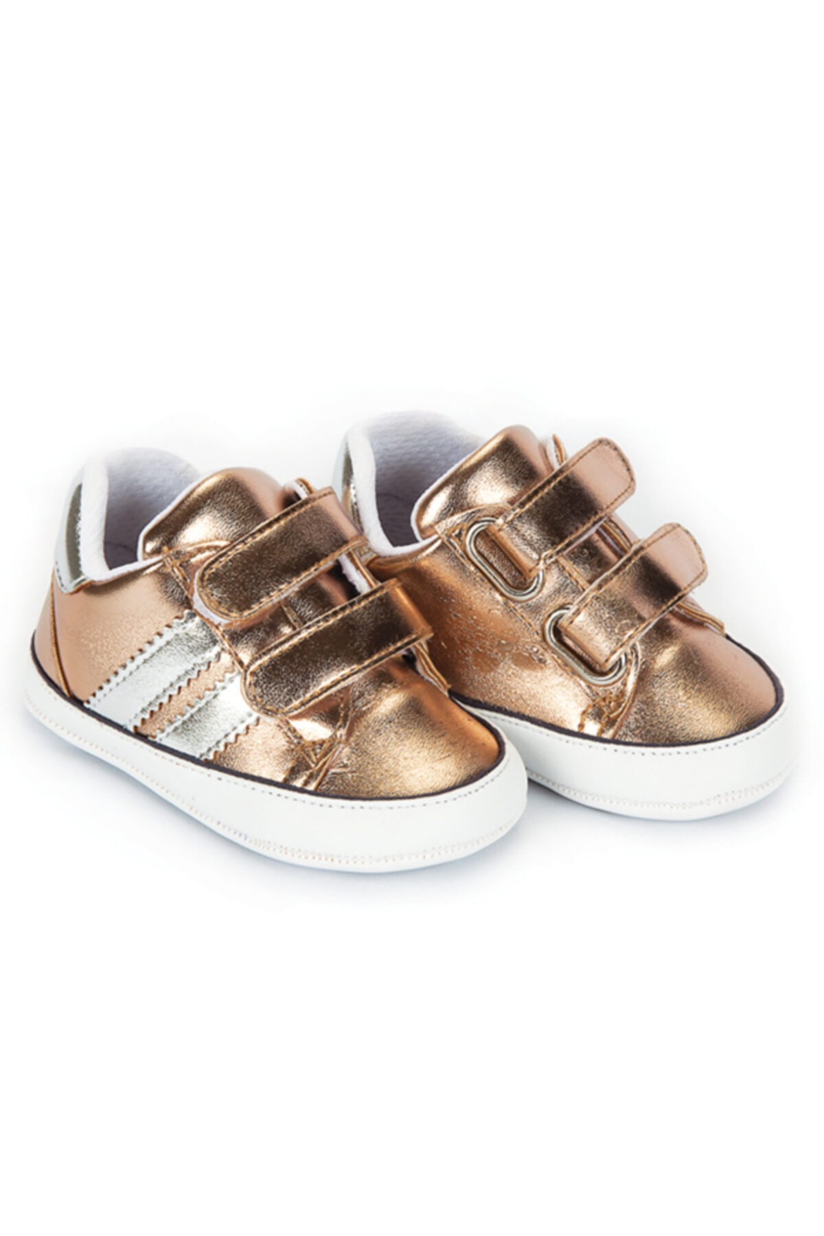 Flaneur Baby Girl Gold Casual Shoes 2021 Premium Quality