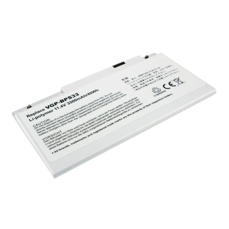 Bateria para o portátil sony vgp-bps33, jinjunye