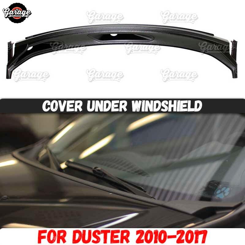 Защитный чехол jabot для Renault / Dacia Duster 2010-2017, аксессуары из АБС-пластика для лобового стекла, тюнинг автомобиля