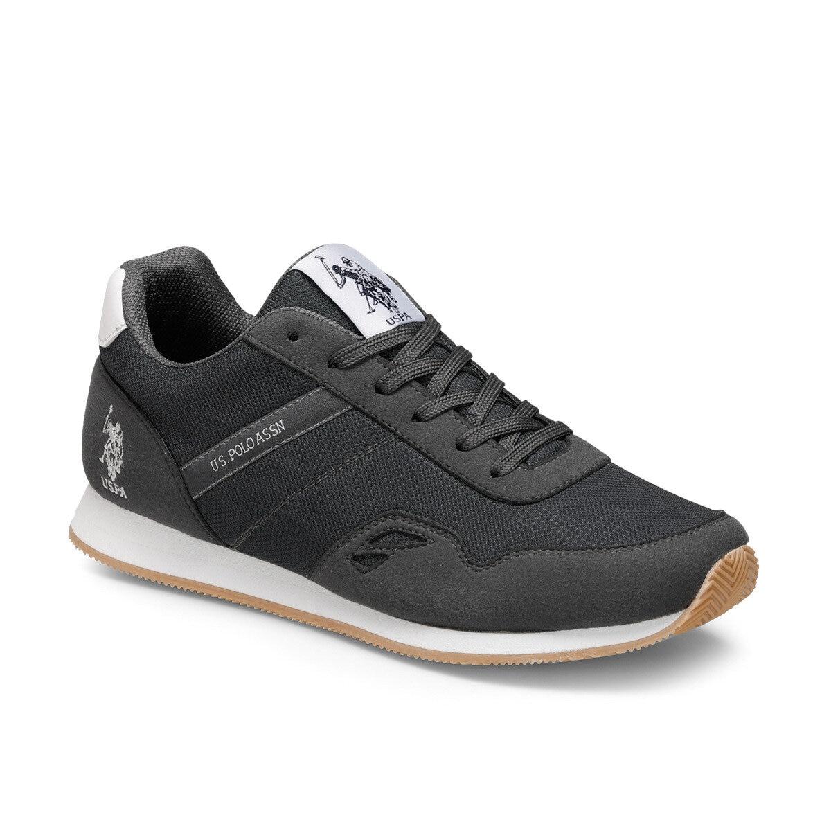 Zapatillas deportivas FLO para hombre, zapatillas deportivas informales con cordones para hombre, zapatillas POLO ASSN de ee.uu. ANDREW Gray