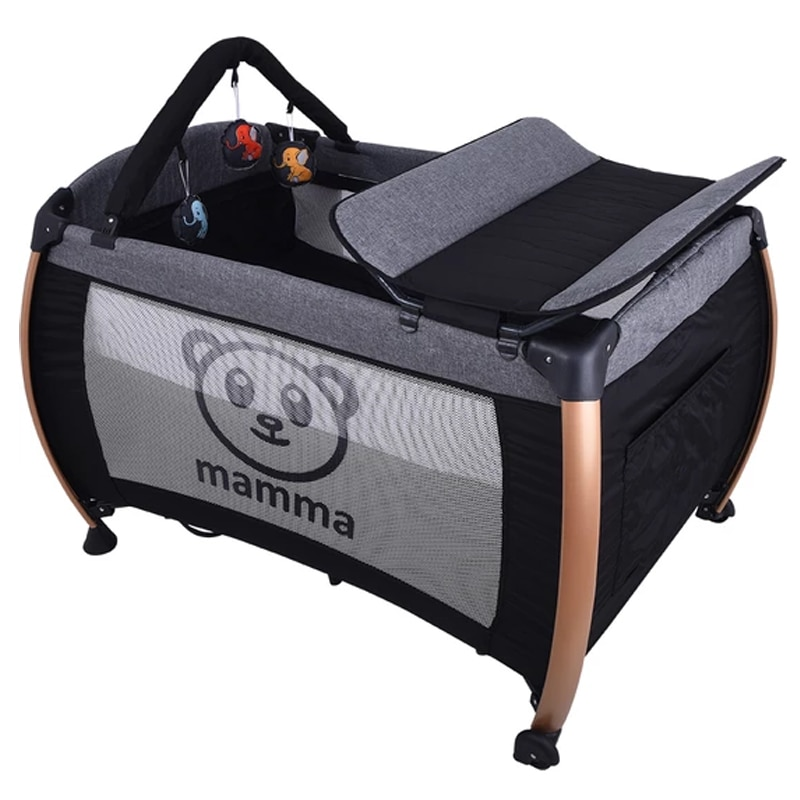 Aluminum Baby Cradle Bed Park Playground Swing Cradle Baby Seat