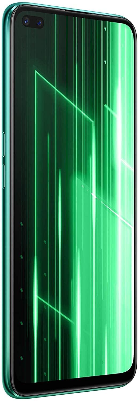 Teléfono Realme X50, Color Verde (Jungle Green) Banda 5G. 128 GB de Memoria Interna, 6 GB de RAM, Dual SIM, Pantalla de