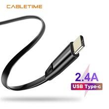 Câble USB Type C câble USB C cordon de Charge Type C câble Mobile de Charge rapide pour Oneplus Samsung S10 Huawei Nintendo N151
