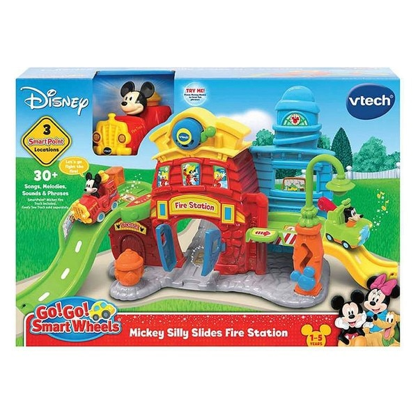 Mickey estación de bomberos Vtech de sonido de la luz (Es)