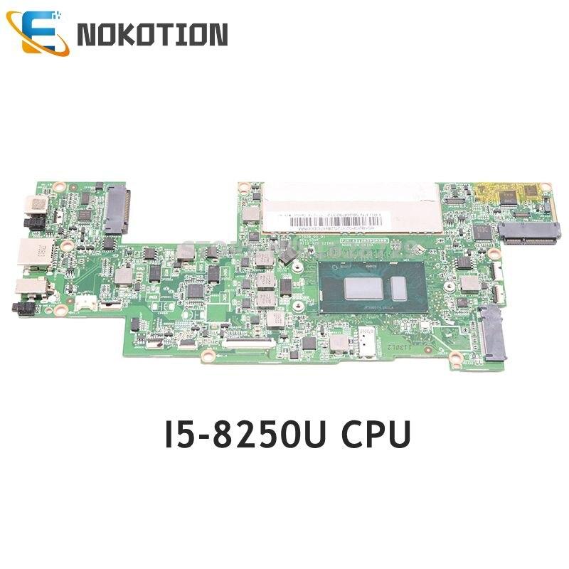 NOKOTION 5B20P92372 431203950200 لينوفو MB 3N81CG اللوحة المحمول SR3LA I5-8250U وحدة المعالجة المركزية اختبار كامل