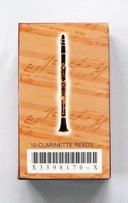 Bastones de Clr-pr15na para clarinete 10 Uds