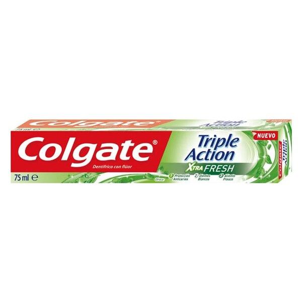 Creme dental ação tripla xtra fresco colgate (75 ml)