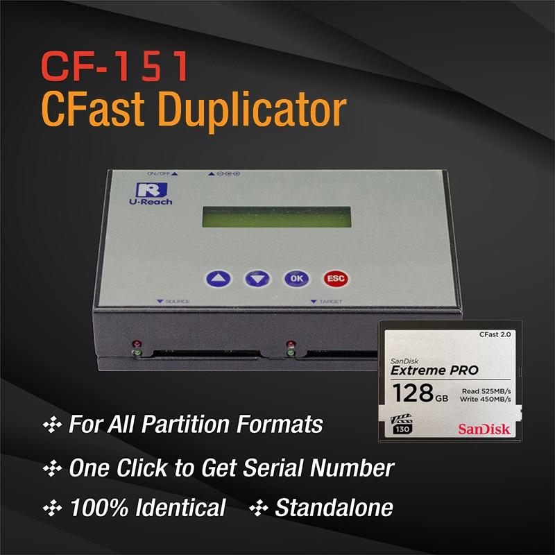 UReach CF-151 آلة نسخ بطاقة CFast