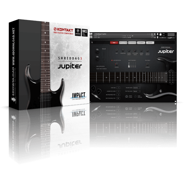 Shreddage 3 Jupiter KONTAKT Library