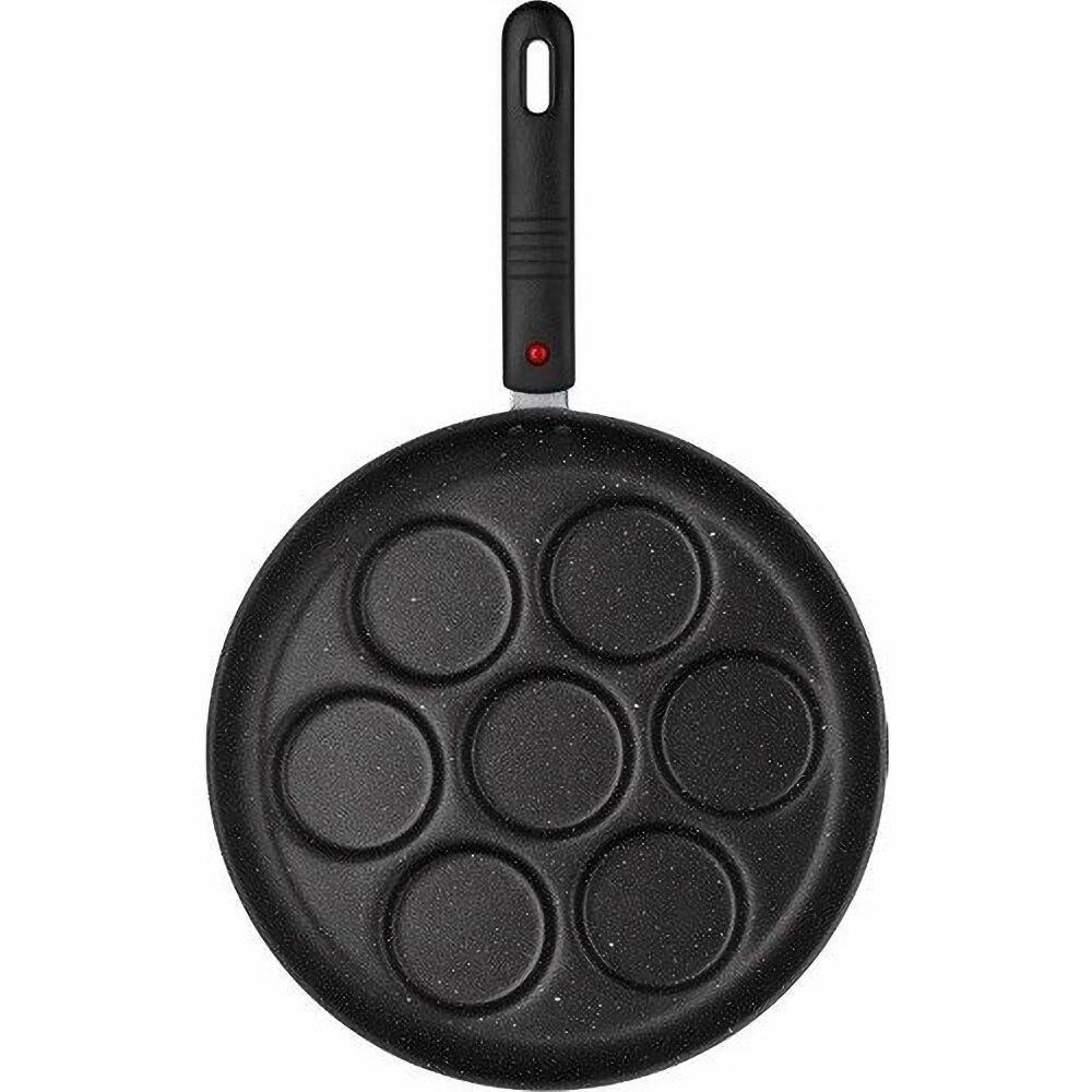 Сковорода для блинов антипригарная съемная ручка 7 яиц блинов блин Сковорода/мини креп