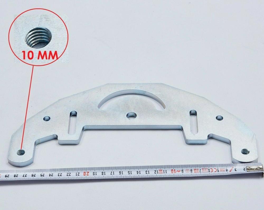 "Placa de amoladora de correa TR Maker para amoladora de cuchillo de 2x72 ""/agujero de amoladora de correa de 10mm"