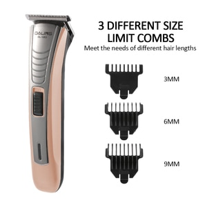 Professional Rechargeable Hair Clipper for Men Waterproof Wireless Electric Hair Trimmer  Nose Ear Shaver Hair Cutting Machine