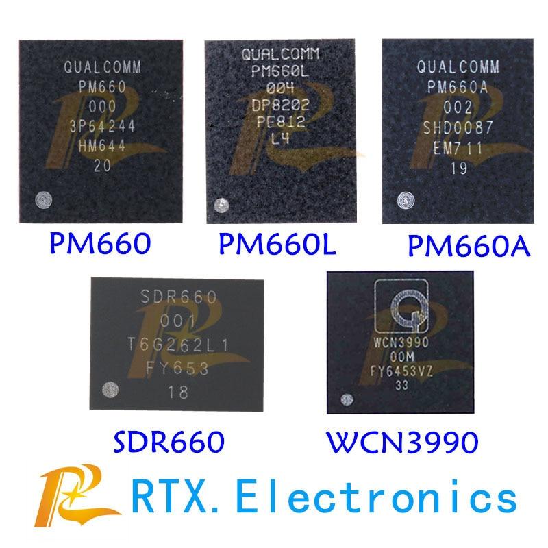 WCN3990 00 М SDM660 001 201-AA 101-AA 301-AA PM660 001-01 PM660A PM660L WCN3990 0VV SDR660 003 Мощность IC WI-FI IC RF IC 5 шт./лот