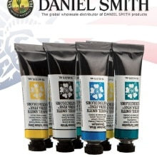 Imported Original Watercolor Paint DANIEL SMITH Aquarelle Tube 15ml Single Acuarela Pigment Art Supp