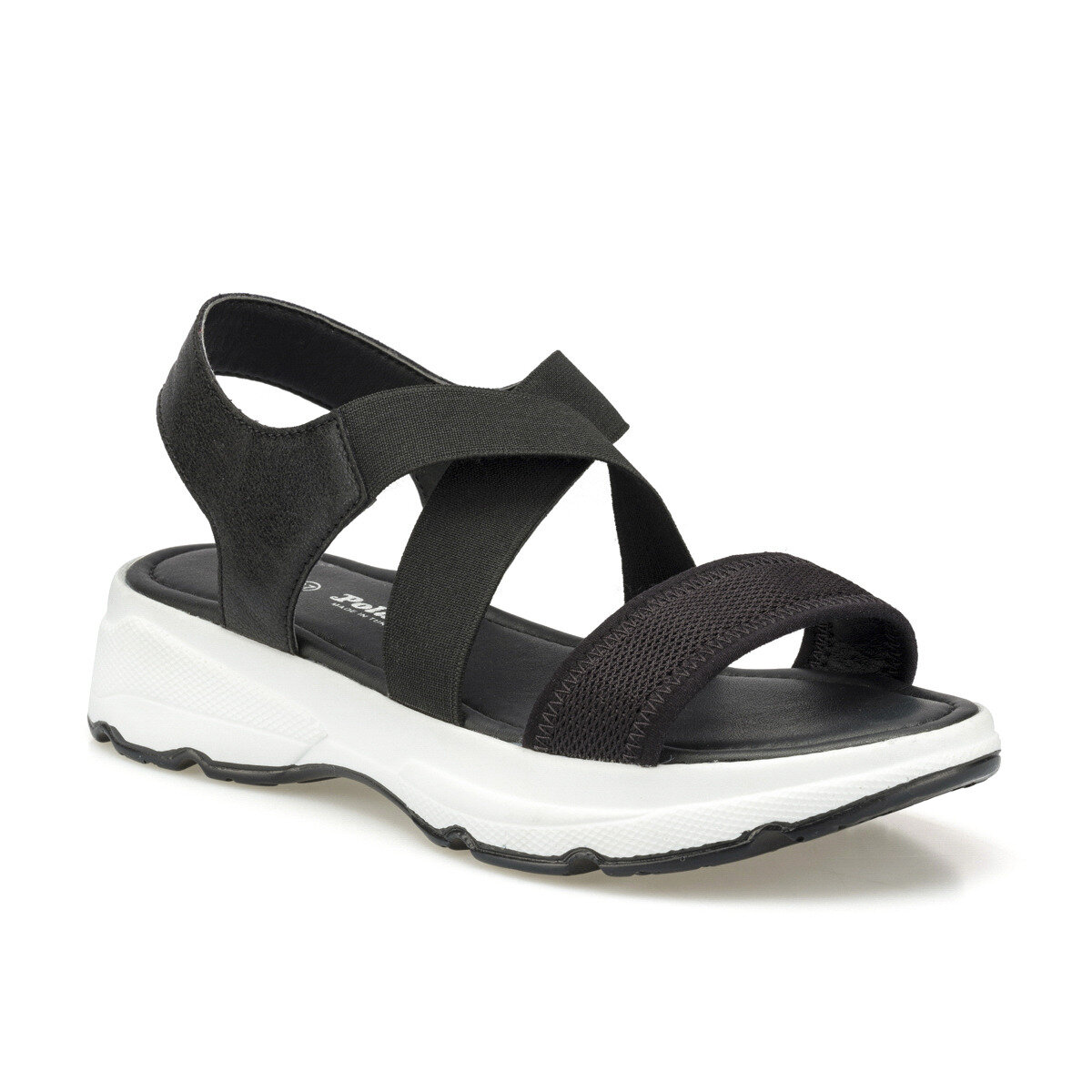 FLO 315500.Z Black Women Sandals Polaris