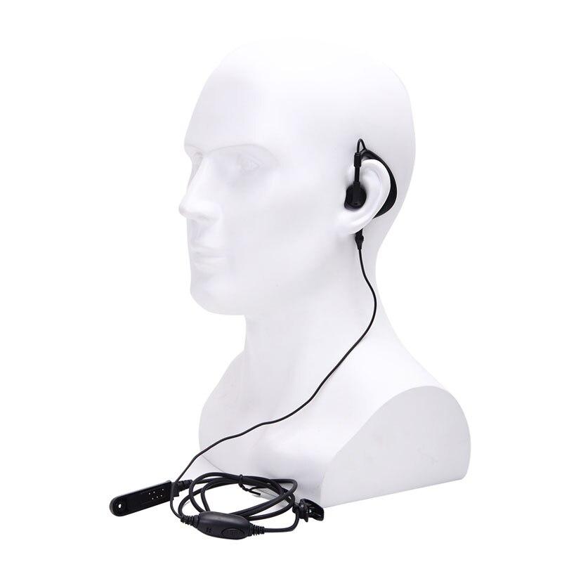 Original Baofeng UV-9R Plus Walkie Talkie Headphone IP67 Waterproof Two Way Radio PPT Earphone Headset For Baofeng UV 9R BF-A58