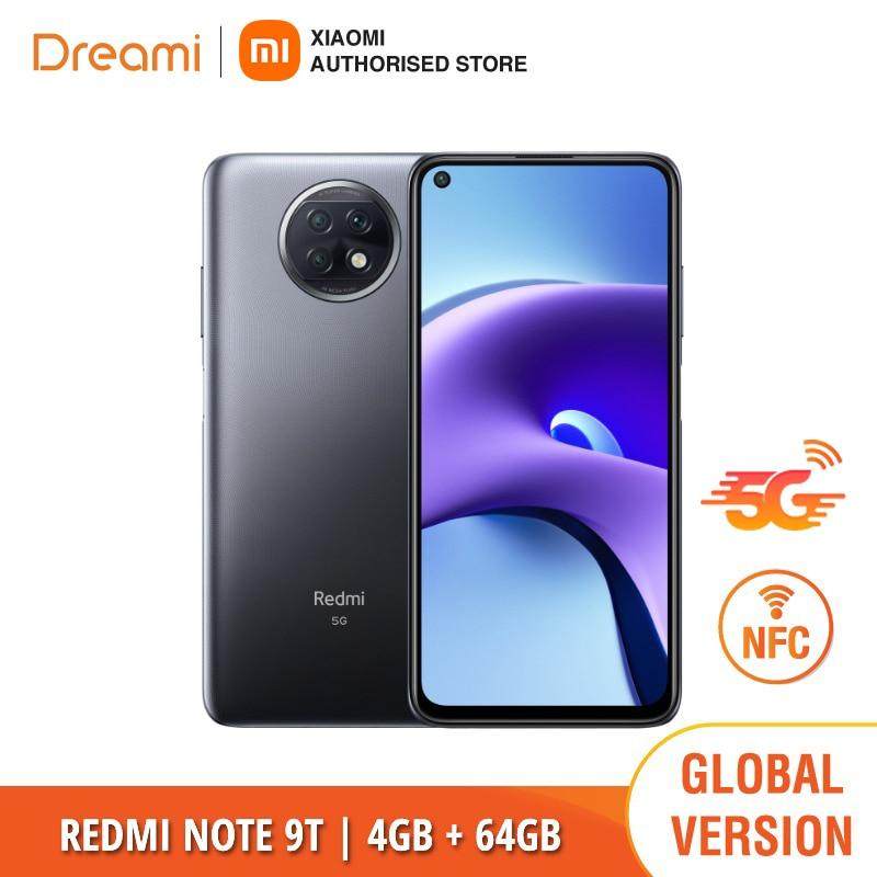 Versión Global Xiaomi Redmi Nota 9T 64GB ROM 4GB RAM NFC |...