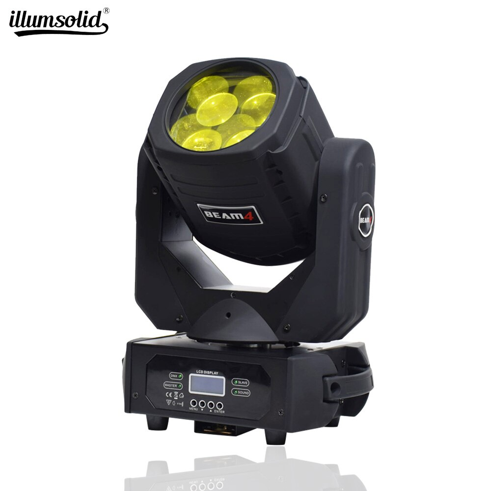 LED Super Beam Moving Head Light 4X25w Super Beam DMX 14 Channels Stage Lighting For Disco Nightclub DJ Bar Party