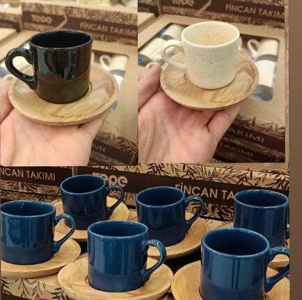 Бамбуковая чашка в комплекте, подарок, свадебная Презентация