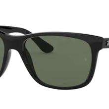 Rayban 4181 601 57 Wayfarer Model Sunglasses Black Frame G-15 Green  Lenses High Quality Vision Man