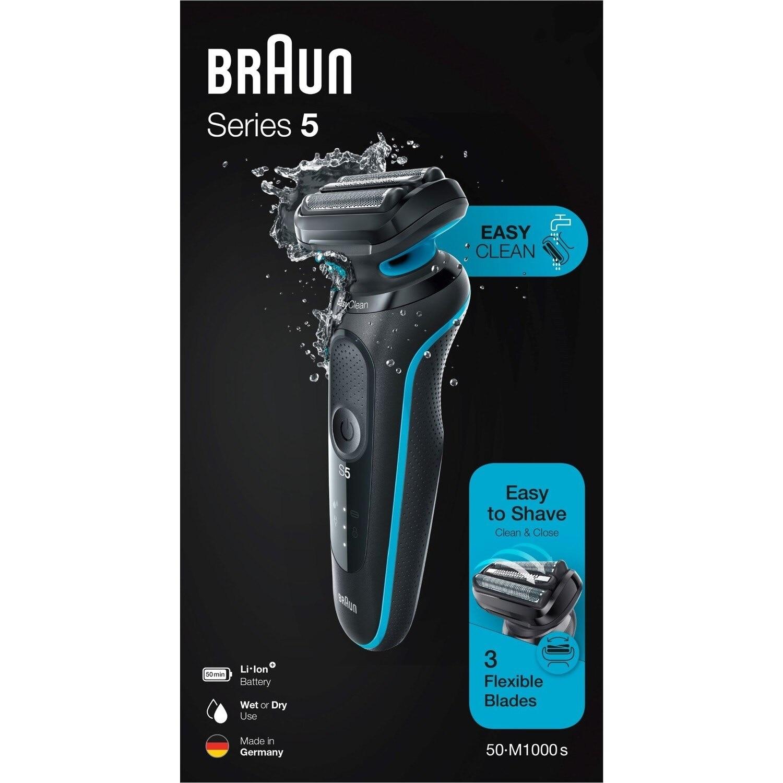 Original BRAUN Series 5 M1000s Rechargeable Electric Shaver for Wet Dry Dual Use EasyClean EasyClick Waterproof Shaving Men's enlarge