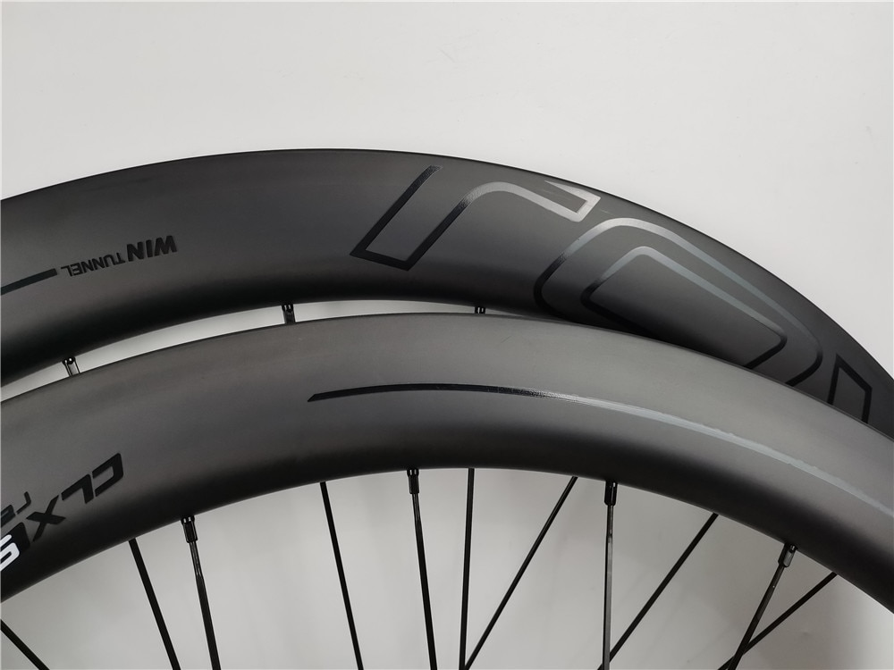 High quality carbon wheels tubeless 25mm customize ROV AL logo 700C road bike carbon wheelsset 38mm 50mm 60mm 80mm