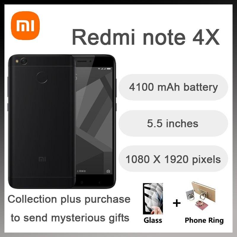 Xiaomi Redmi note4X smartphone 4G 64G snapdragon 625 instock big promotion