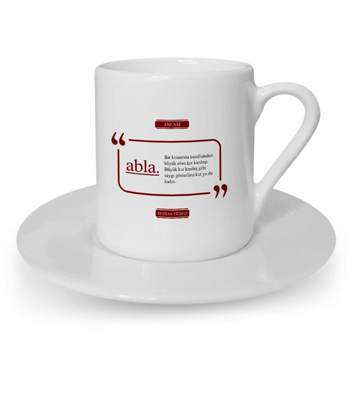 فنجان قهوة تركي, أخت كبيرة مخصصة-2