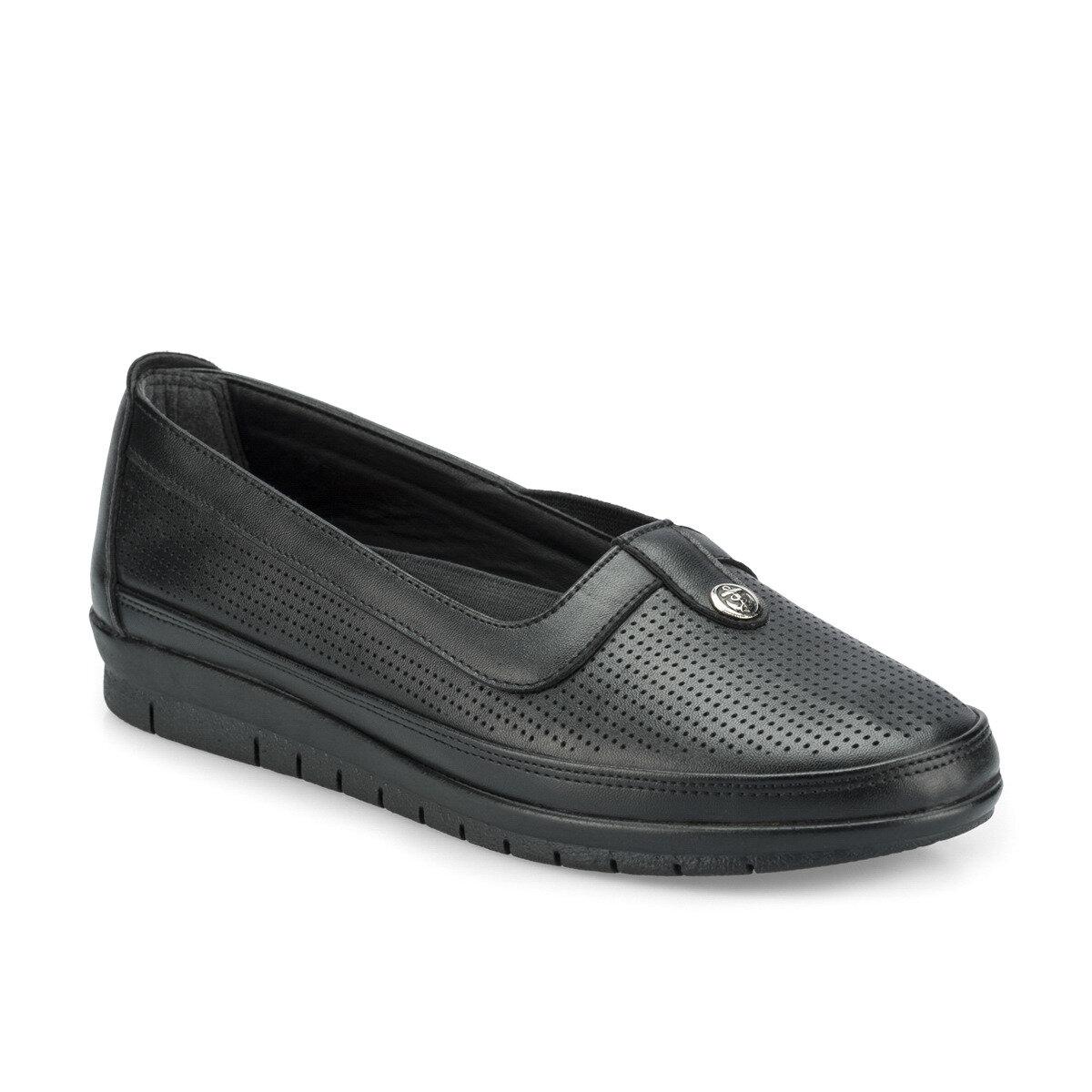 FLO 161212.Z Черная женская обувь Polaris