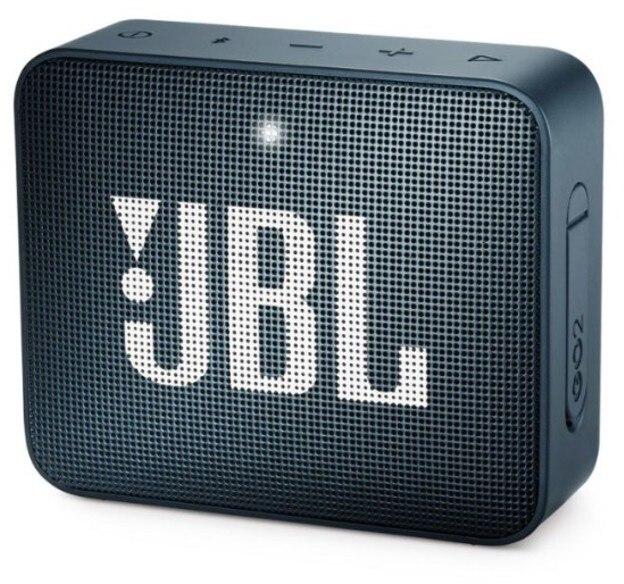 JBL SPEAKER GO2 PORTABLE BLUETOOTH NAVY BLUE