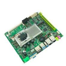 Carte mère Mini Itx prise en charge des cartes mères de bureau intel core i3 i5 i7 cpu haute vitesse avec carte mère Vga HDMI 2 * Ddr3