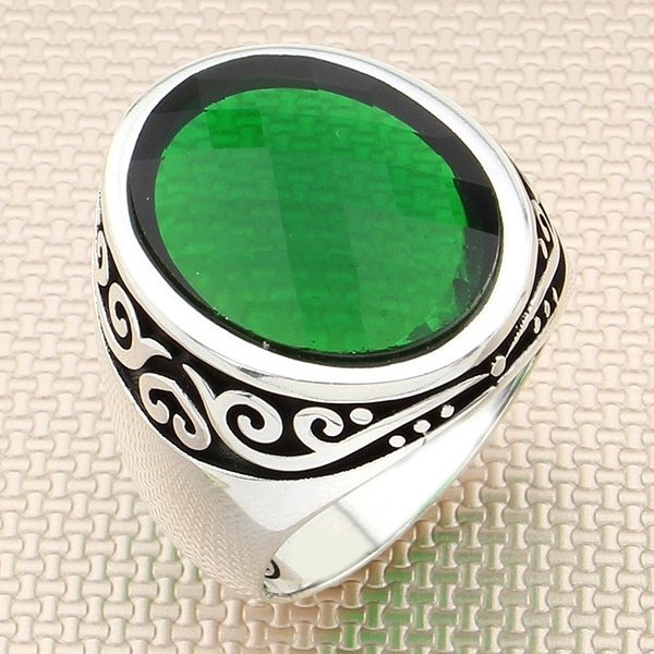 925 sterling silver men ring real stone Jewelry fashion vintage Gift all size fashion for men and women made in turkey new store