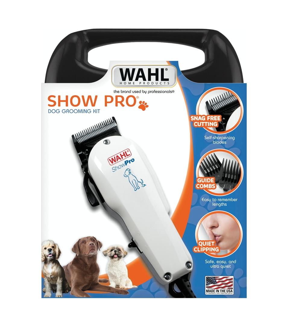 Wahl Show Pro Pet, Dog Hair Clipper Kit, Animal Grooming Kit, Animal Hair Cutting Machine Kit, Shaver enlarge