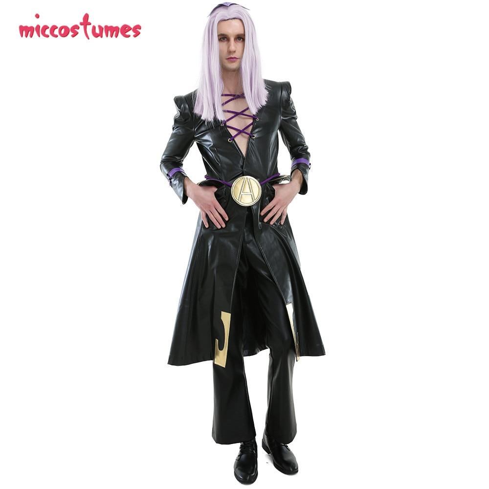 Leone abbacchio cosplay jojo bizarro aventura cosplay vento dourado jojo outfit halloween cosplay traje