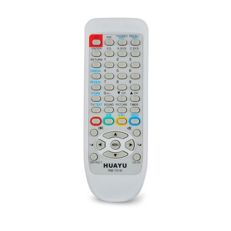 Télécommande universelle Huayu Hitachi RM-791b TV, cle-865b, cle-865a, cle-867f, cle-878, cle-884a, cle-884b, cle-865c, cle-886,,