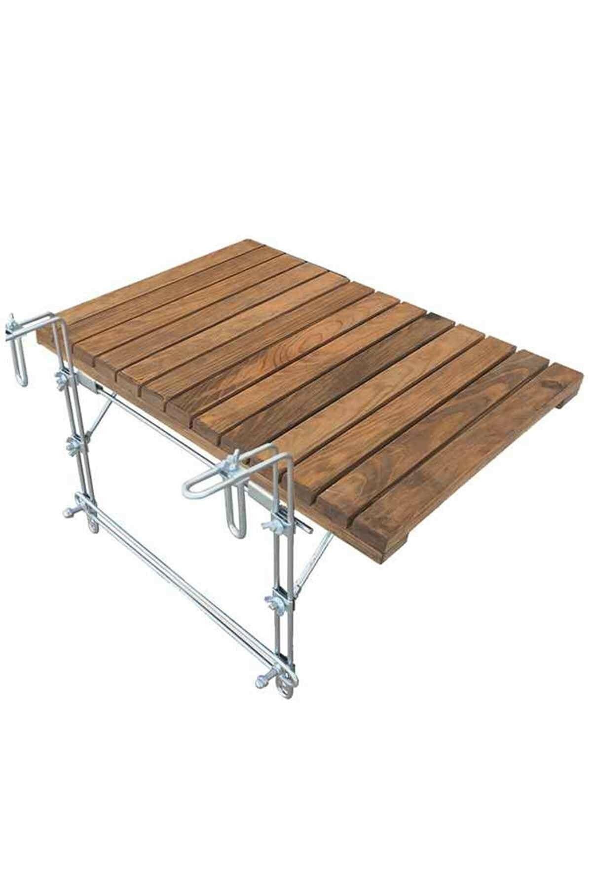 Складной стол для балкона, складной стол для балкона, модель 2021, деревянная подставка, Размер 40 см x 60 см