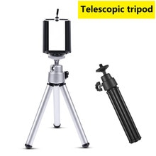 Portable Mini tripod Mobile Phone Holder Camera Stand mobile Tripode Telephone accessories For Gopro