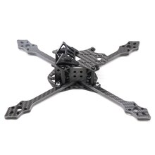 TCMMRC FPV Drone cadre Blackbird 210N/210S 210mm Normal X FPV course RC Drone cadre Kit 5mm bras Fiber de carbone