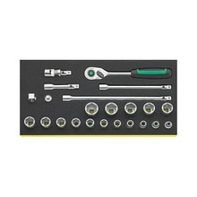 STAHLWILLE 96830370 plateau de sécurité c/clé à douille bouches 3/ TCS 456/16/7QR