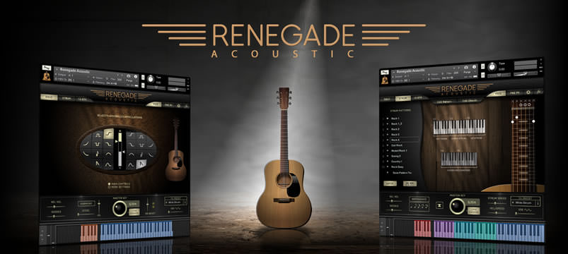 RENEGADE ACOUSTIC GUITAR - INDIGINUS (KONTAKT)RENEGADE ACOUSTIC GUITAR - INDIGINUS (KONTAKT)