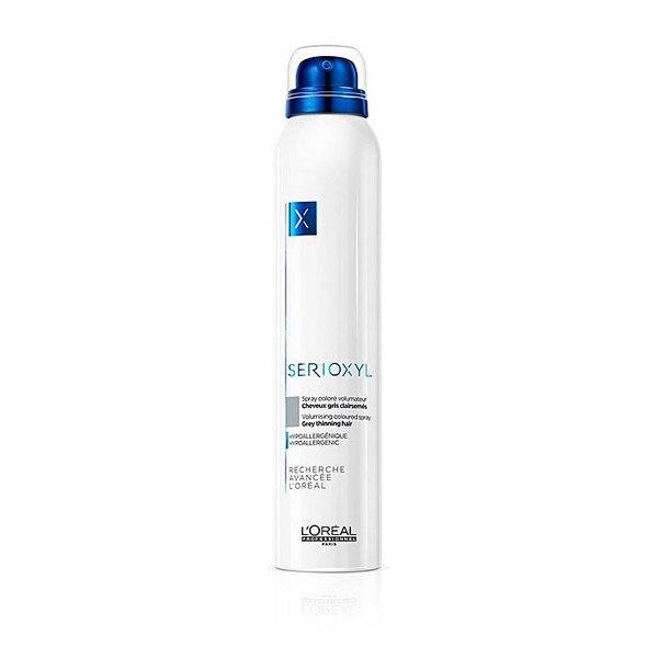 Spray voluminizador con color Serioxyl LOreal experto Professionnel (200 ml) gris