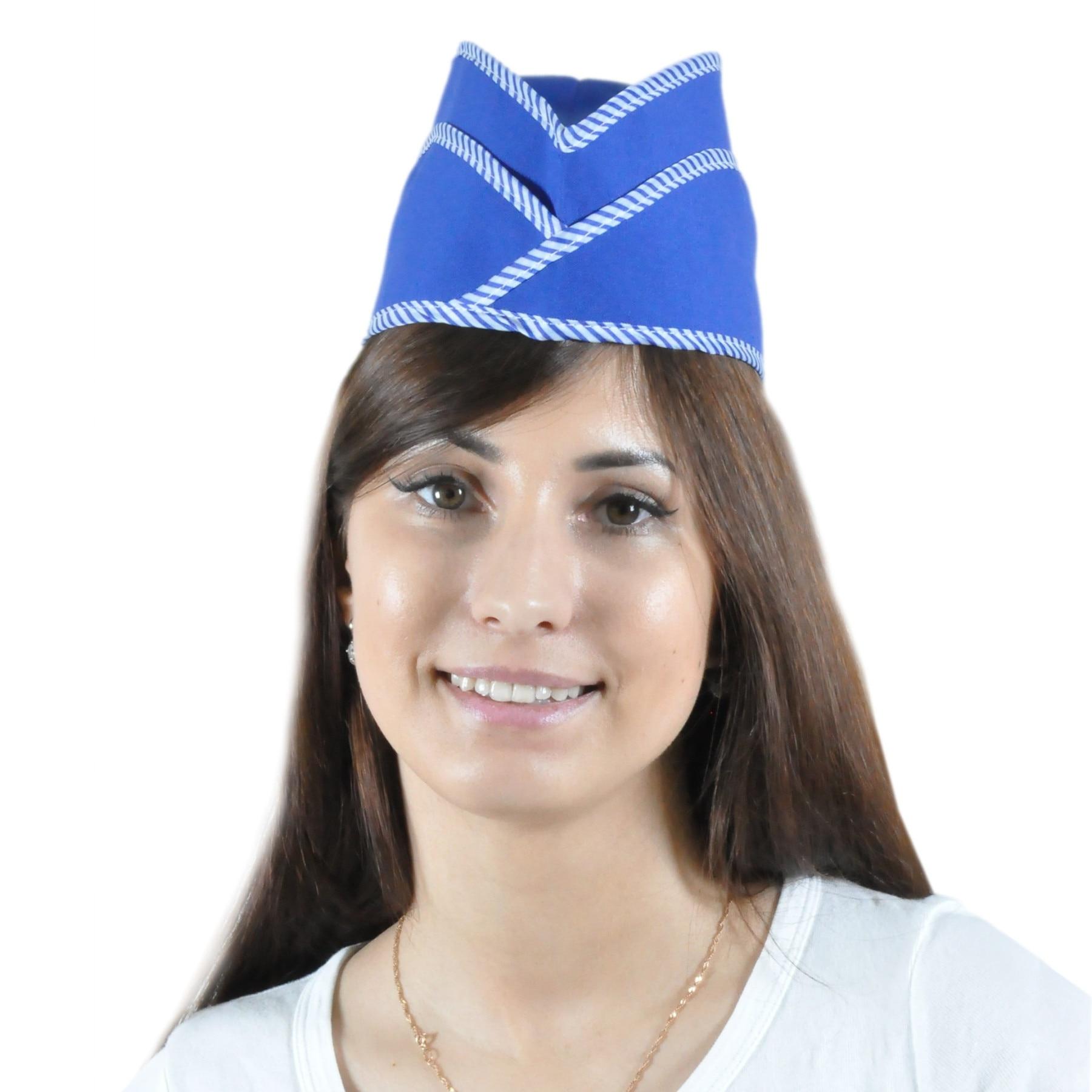 Piloto para el vendedor ivuniforma blue de gabardina